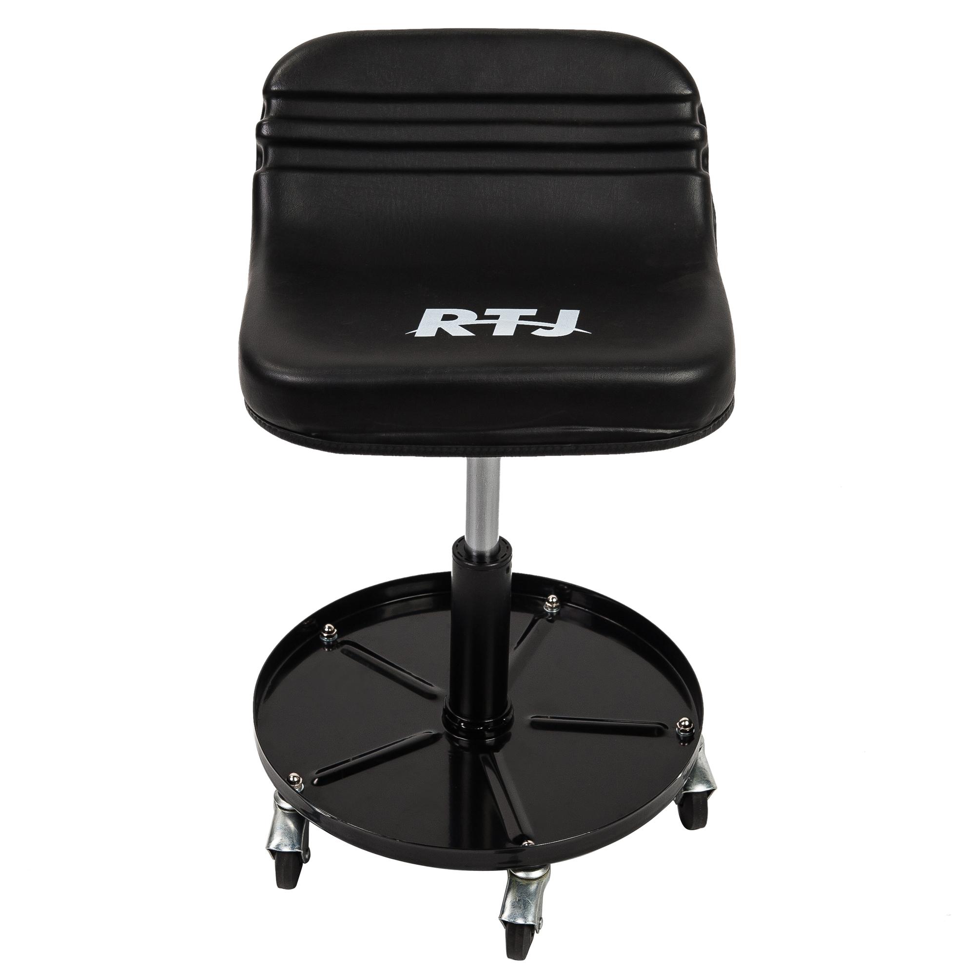 Pleasant Rtj 300 Lbs Capacity Pneumatic Mechanic Roller Seat Ibusinesslaw Wood Chair Design Ideas Ibusinesslaworg