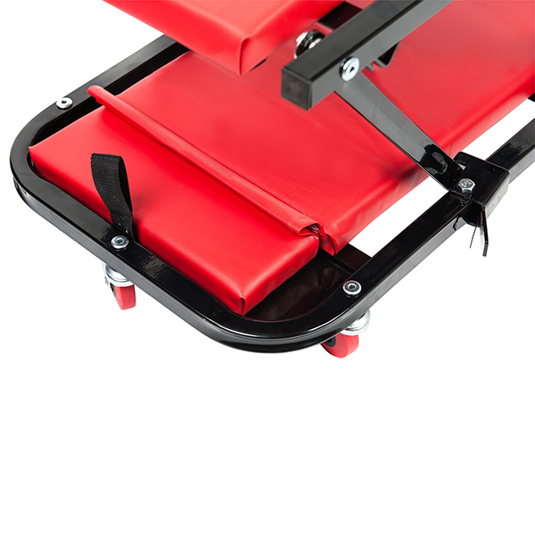 RTJ 47 Inch N-Creeper Seat with Adjustable Headrest , Red